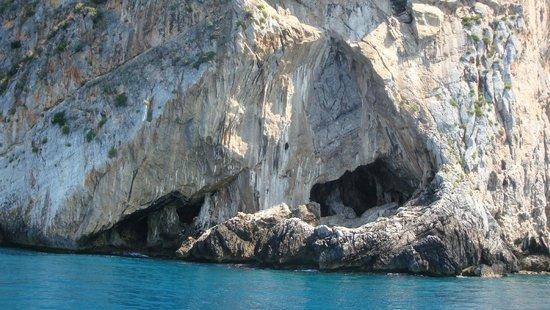 Grotte delle cascate Praia a Mare