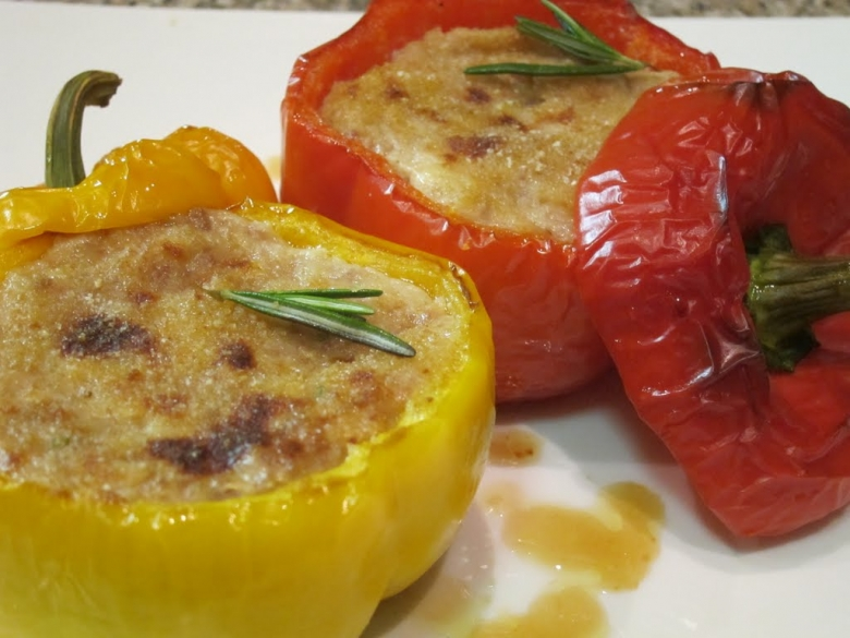 ricetta peperoni ripieni con carne tritata