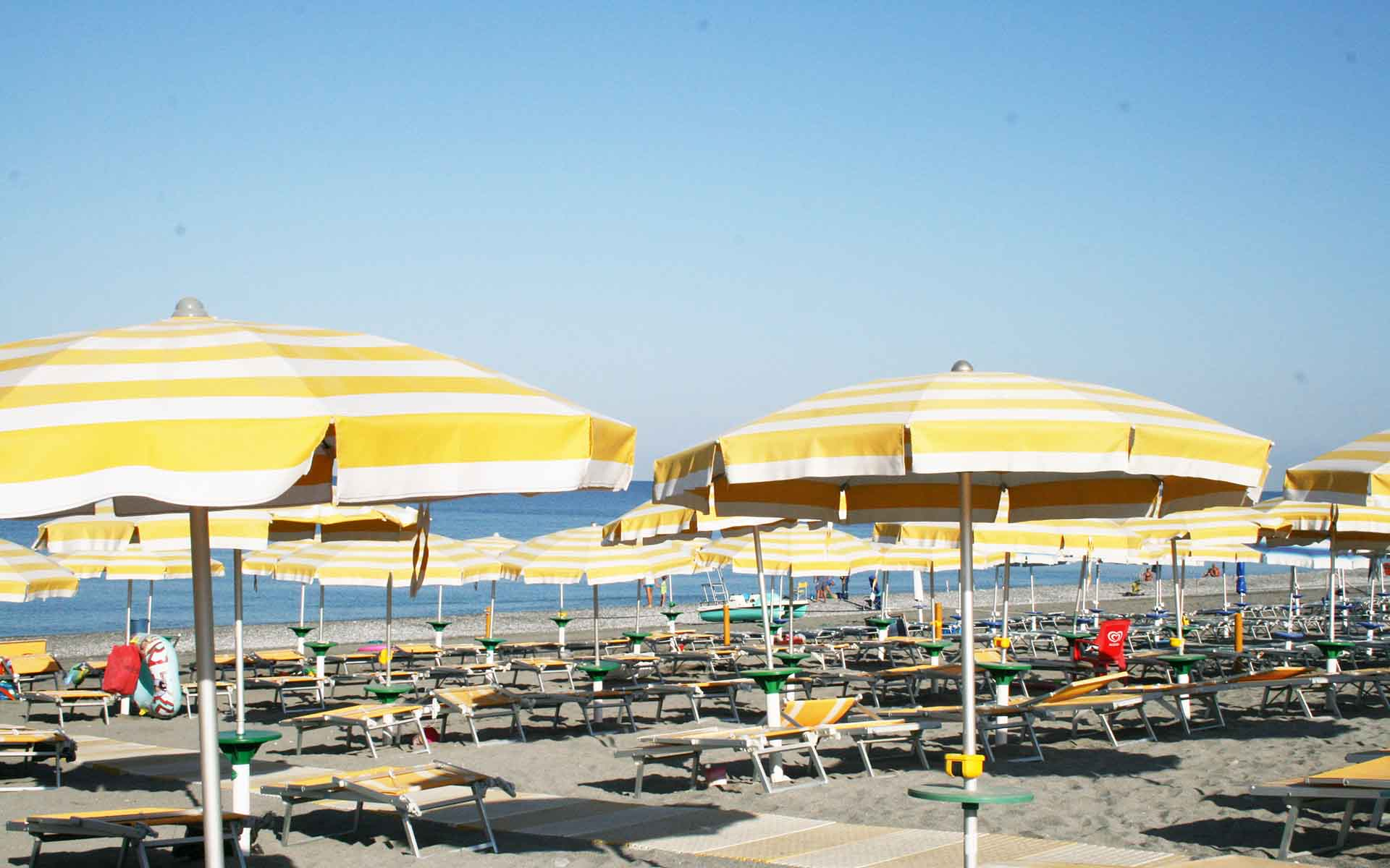 Spiaggia - Stabilimento balneare Hotel Residence Turium